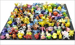 48 PCS MINI POKEMON ACTION FIGURE FIGURINE CAKE TOPPER PARTY
