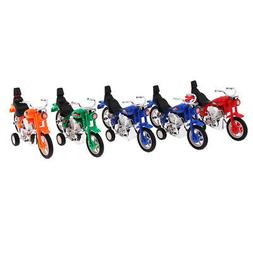 5-Pack Mini Pull Back Motorcycle Car Toys for Goody Bag & Ea