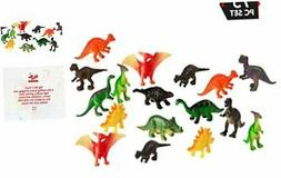 Big Mo's Toys 75 Piece Party Pack Mini Dinosaurs - Plastic M