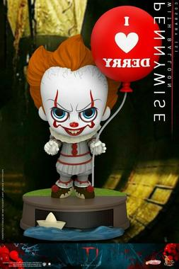 Hot Toys Cosbaby It Pennywise With Balloon I Love Derry Mini