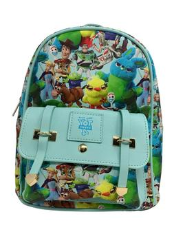 """Disney Deluxe Toy Story 4 11"""" Faux Leather Mini Backpack"""