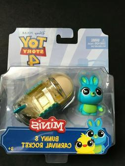 Disney Pixar Toy Story 4 Minis Bunny and Carnival Rocket New