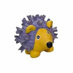 HuggleHounds Extremely Durable and Squeaky Ruff-Tex Violet t