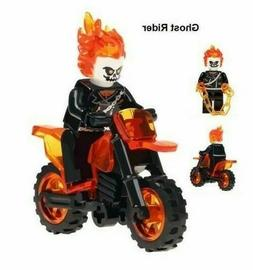 Ghost Rider and Motorcycle Set MARVEL GHOSTRIDER MINI FIGURE