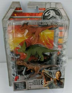 Jurassic World Legacy Collection Dinosaurs Set of 3 with T-R
