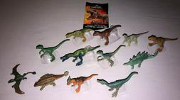 Jurassic World MINI ACTION DINOS COMPLETE SET OF 12 **NEW**