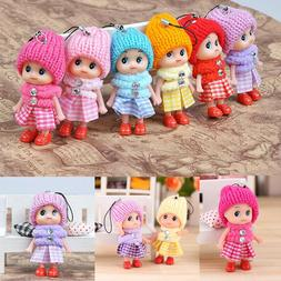 Kids Toys Soft Interactive Baby Dolls Toy Mini Doll For Girl