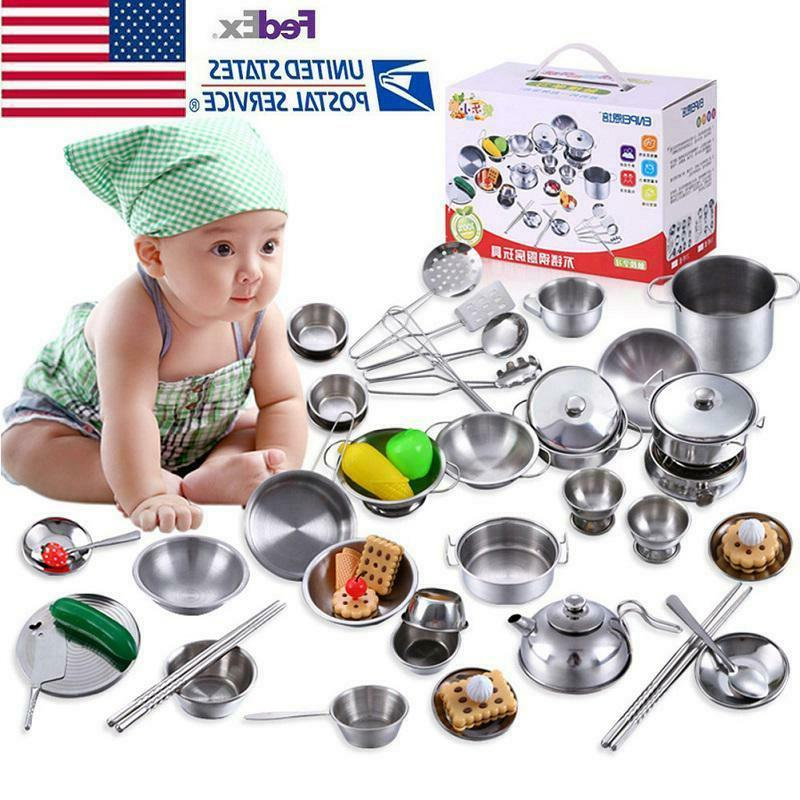 18 40pcs stainless steel mini kitchen cooking