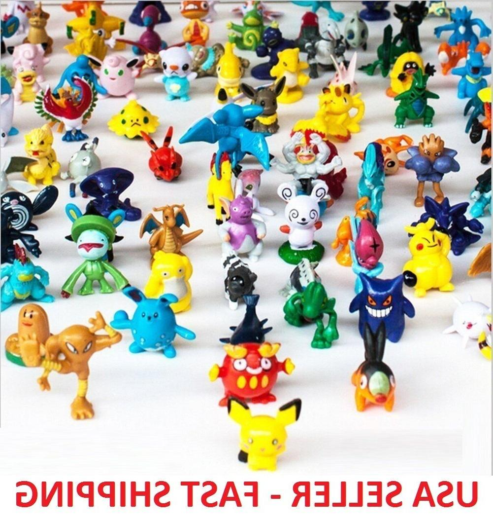 50 pcs monster mini figures cake toppers
