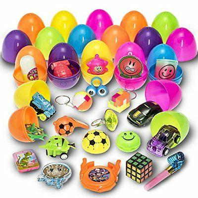 easter eggs filled with mini toys