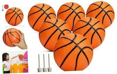 gejoy 6 packs mini basketball replacement rubber