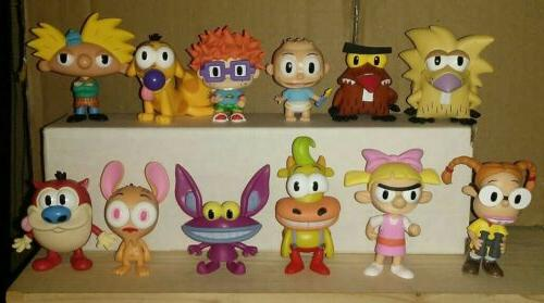 mystery minis 90 s nickelodeon lot of