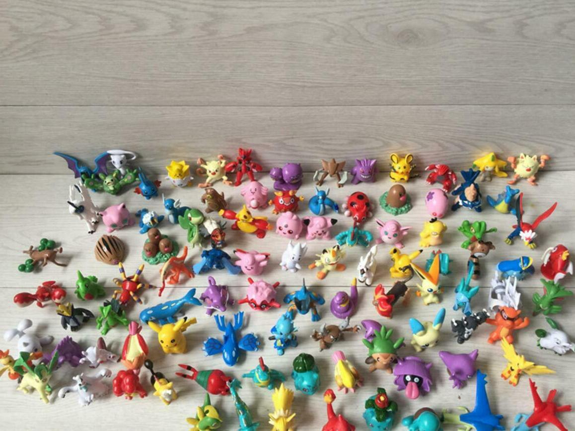 NEW 144 PVC Mini Figures Animation model PARTY Gift TOPPER