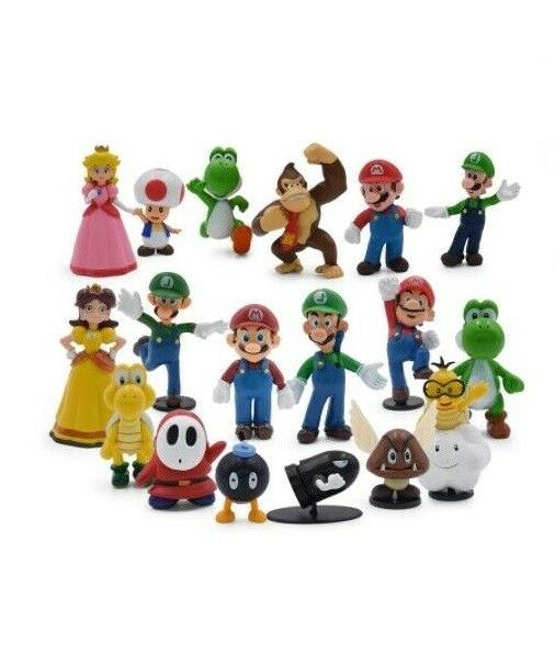 Super Mario Collection Sets, Multiple Styles, Karts,