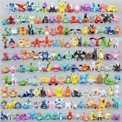 toy mini figures monster animation model collection