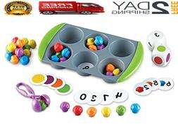 Learning Resources Mini Muffin Match Up Counting Toy Set Hom