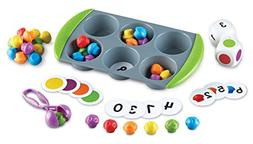 Learning Resources LER5556 Mini Muffin Match Up, Assorted Co