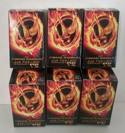Lot of 6 Hunger Games Mini Figurines In sealed boxes by NECA