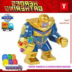 Thanos Marvel Super Heroes thanos Mini Figures Avengers Supe