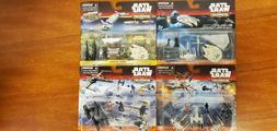 Star Wars Micromachines Deluxe Mini Playsets 5 Different Pac