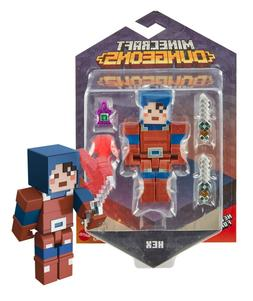 """Minecraft Dungeons Hex 3.25"""" Figure New in Package"""