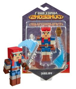 """Minecraft Dungeons Valorie 3.25"""" Figure Mint on Card"""