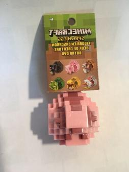 Minecraft Pig Spawn Egg Mini Figure New in Packaging