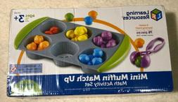 Learning Resources Mini Muffin Match Up Counting Toy Set, Fi