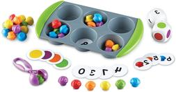 Learning Resources Mini Muffin Match Up Counting Toy Set, Ho