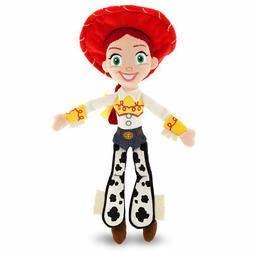 "NEW 11"" Disney Store Pixar Toy Story CowgirlJessie Mini Bean"