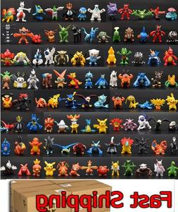NEW 144 PVC Toy Mini Figures Monster Animation model PARTY G