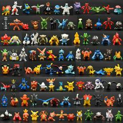 NEW 144ps/set pvc Toy Mini Figures Monster Animation model c