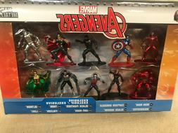 NEW Marvel Avengers Nano Metalfigs 10 pack Collectors Set