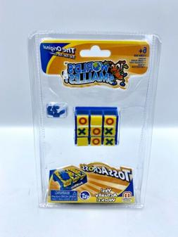 NEW World's Smallest Mini Toss Across Tic Tac Toe Game Toy O