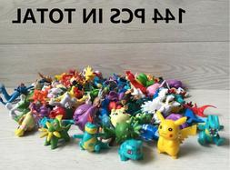 Pokemon Pikachu Monster PVC Mini Figures Toys PARTY gifts ca