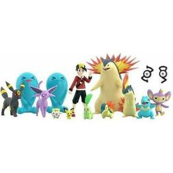 Pokemon Scale World Johto Region 1/20 Scale Bandai Mini-Figu