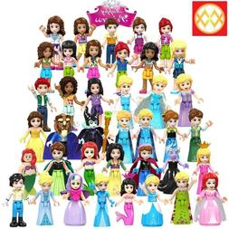Princess Minifigures Compatible With Lego Girls Toys Minifig