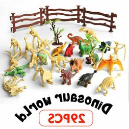 Realistic Dinosaur Toy Assorted Lot Pack of 24 Mini Jurassic