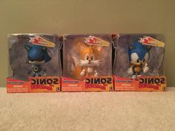 Sonic the Hedgehog Jazwares Mini Morphed 3 Toy Lot Tails the