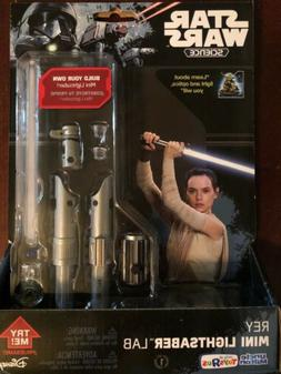 Star Wars, Exclusive  Rey Mini Lightsaber Lab, Build your ow