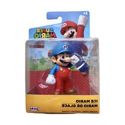 Nintendo Super Mario Series 3 Ice Mario Mini Toy Size 2.5""