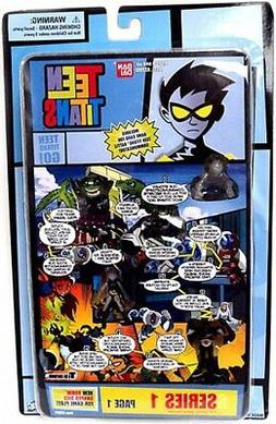 Teen Titans Go! Series 1 Comic Book Heroes Page 1 1.5-Inch M