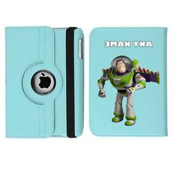 TOY STORY Buzz 1 Name Personalised iPad 360 Rotating Case Co