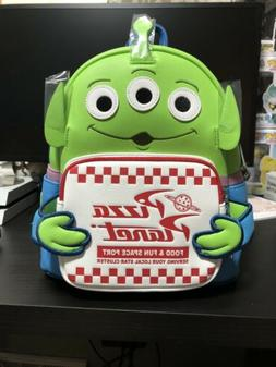 Loungefly Toy Story Pizza Planet Alien Mini Backpack Disney