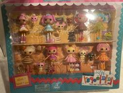 Toys R Us Sweet Bakery Set 8 Mini Lalaloopsy Dolls & Pets