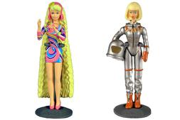 Worlds Smallest Barbie Series 2 - Totally Hair & Astronaut 3